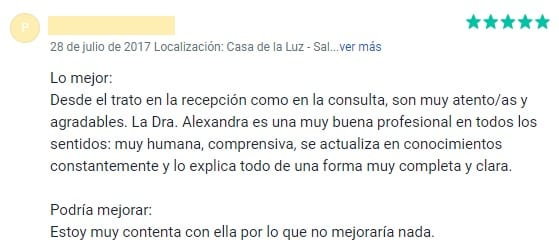 Reseña Alexandra Palenzuela